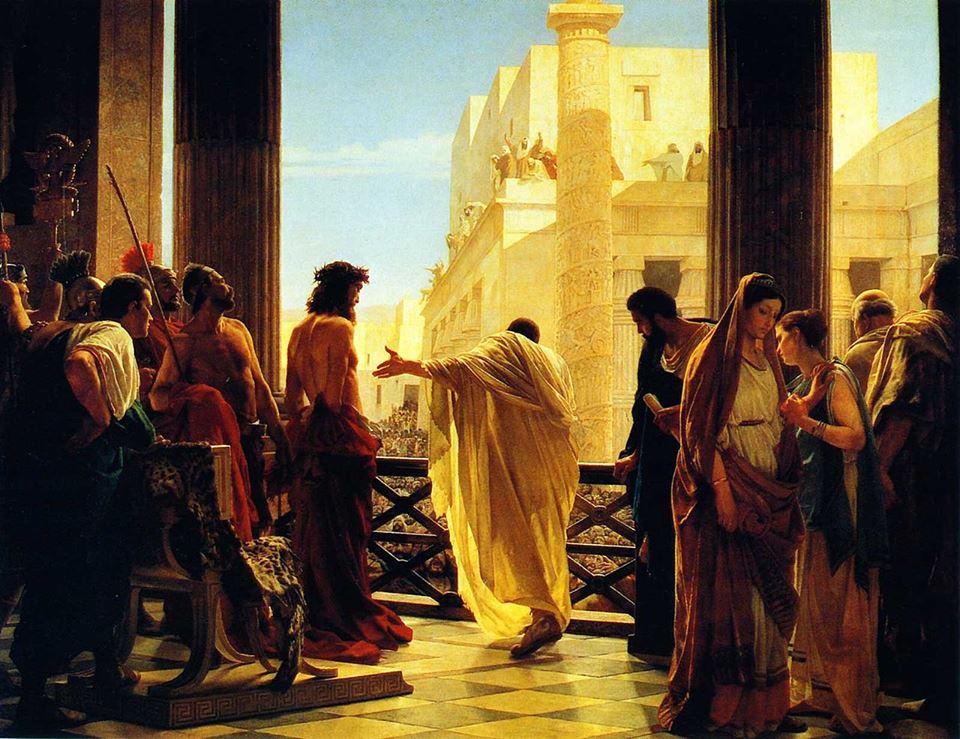 در ساعت ششم روزی که عیسی مصلوب شد، مسیح کجا بود؟