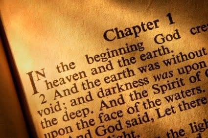 آیا نخستین آیه فصل اول کتاب پیدایش نقش عنوان را بر عهده دارد؟