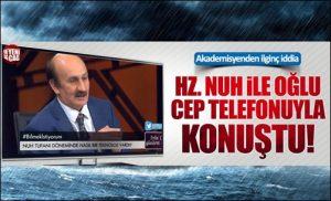 ادعاهای عجیب دانشمند ترکیه ای درباره طوفان نوح