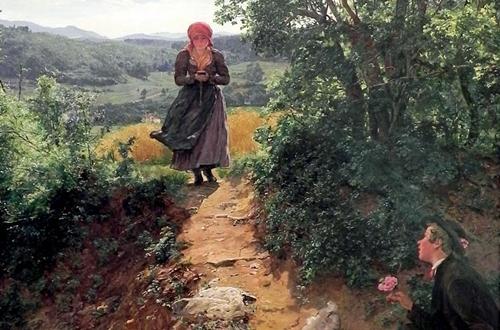 آیفون یا کتاب مقدس! در نقاشی ۱۵۰ سال پیش چه میبینیم؟
