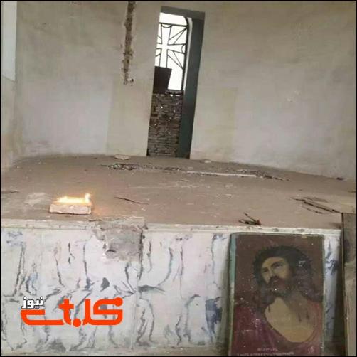 کلیسا «مسروپ ارامنه» در اهواز به ویرانه تبدیل شده است
